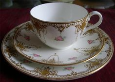 Shelley tea cup, saucer and plate