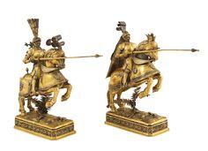Lot 84 A pair of German gilt-silver sculptures Late 19th century http://www.colasantiaste.com/?language=en