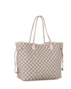 louis vuitton Damier Azur Canvas Neverfull Handbags Beige Pale P, Louis Vuitton store Hermes Handbags, Cheap Handbags, Handbags Online, Handbags Michael Kors, Louis Vuitton Handbags, Fashion Handbags, Purses And Handbags, Fendi Purses, Designer Handbags