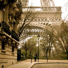 Eiffel Tower...up close and personal...