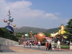 Tomorrowland, Disneyland @ Hong Kong