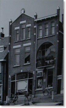 Woonhuis annex fotoatelier van de Fam.Colthof,aan de Noordvliet 69 te Maassluis.