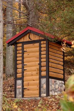 Yes, An Outhouse