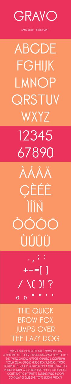 Gravo free font by Ilario Strazzullo, via Behance