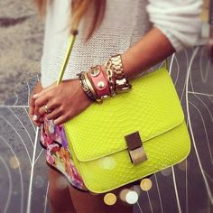 Bright accessories. www.figleaves.com #SS13TREND