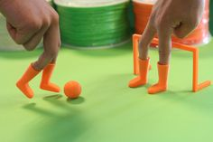 As you wait for your favorite team to play, why not participate in some soccer yourself…. finger soccer that is! Thanks to LeapFrog, you can now download an entire 3D printable finger soccer game. This includes 4 finger boots, a ball, and 2 goals.