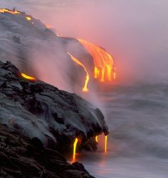 # 50 - Go back to Kona & see the lava flow - we missed it the last time we were there.