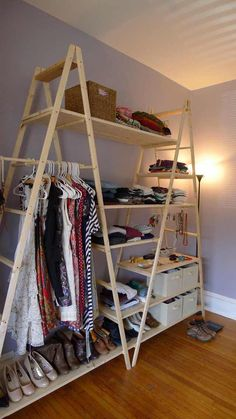 30 home decor ideas diy cheap easy simple & elegant 20 ~ House Design Ideas Elegant Home Decor, Elegant Homes, Cheap Home Decor, Diy Home Decor, Diy Wardrobe, Folding Wardrobe, Wardrobe Design, Wardrobe Ideas, Diy Casa