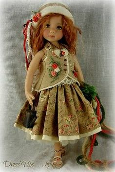 How Does Your Garden Grow by PJ OOAK Ensemble for Effner Little Darlings | eBay. Ends 6/16/14. Starting bid was $225.00. Sold for $262.00.
