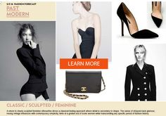 WGSN SS 16 Fashion Forecast - PAST MODERN
