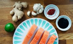 Ovnsbakt laks med hoisinsaus | EXTRA Breakfast, Food, Morning Coffee, Essen, Meals, Yemek, Eten