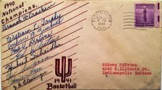 Learn the story behind this 1940-41 IU Basketball Signed Envelope: http://assemblycall.com/iu-artifacts-1940-41-indiana-hoosiers-basketball-signed-envelope/?utm_campaign=coschedule&utm_source=pinterest&utm_medium=Assembly&utm_content=IU%20Artifacts%3A%201940-41%20IU%20Basketball%20Signed%20Envelope