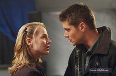 Supernatural - Publicity still of Jensen Ackles & Julie Benz