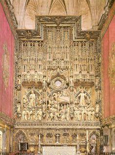 Zaragoza, Spain. Retablo Mayor de la Catedral de La Seo