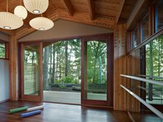 10 Home Yoga Studio Designs Youll Love Yoga studio design