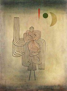 Departure of the Ghost - Paul Klee