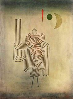 The Athenaeum - Departure of the Ghost (Paul Klee - No dates listed)
