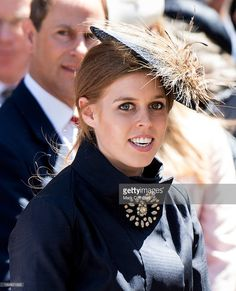 Princess Beatrice attends a service marking the 60th anniversary of the Queen's…