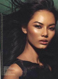 asian bronze beauty