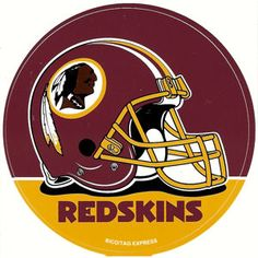 Favorite NFL team! Hail to the Redskins! Hail to victory! Braves on the war path...FIGHT FOR OL' DC!