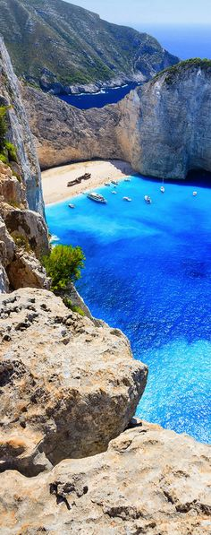 Navagio Beach, Zakynthos, Greece One of the 8 most beautiful beaches in the world. Entire list is on http://www.exquisitecoasts.com/best-beaches-in-the-world.html