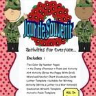 Are you looking for French Activities that are support the Remembrance Day theme: this is PERFECT! Includes : -Two Color By Number Pages - « Au C. Remembrance Day Activities, Memorial Day Activities, Writing Activities, Teacher Lesson Plans, Free Printable Worksheets, Wall Anchors, Vocabulary Cards, French Class, Letter Templates