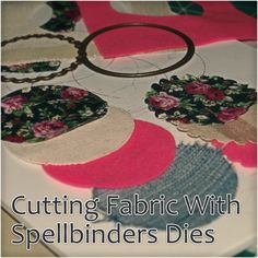 Since I mentioned that you can cut fabric with the Spellbinders Grand Calibur, during a recent show on Create and Craft TV, I have had a lot of questions about how to do it so I thought that I'd tr...