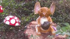 Mouse with nut! Gruffalo Trail, St Andrews, Popular Books, Botanical Gardens, Families, Seasons, Activities, Christmas Ornaments, Holiday Decor