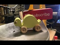 Wood toy turtle - scroll saw project