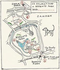Adventure Walks Books Blog: Hand drawn maps of London