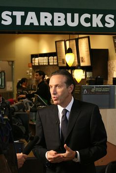 While he is ostensibly supposed to be considering an independent bid to deny Donald Trump a second term, former Starbucks CEO Howard Schultz has endorsed one of… Howard Schultz, Starbucks, What Are Colours, Affirmative Action, Immigration And Customs Enforcement, Political Spectrum, Concrete Steps, Racial Equality, Cory Booker