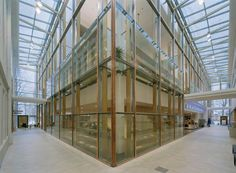 Vaasa City Library, Vaasa, Finland - Lahdelma & Mahlamäki Architects Multipurpose Hall, Side Extension, City Library, Public Service, Helsinki, Finland, Architects, Old Things, Building