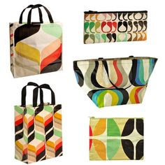 Inaluxe Bags 5 Pack II, $43, now featured on Fab.