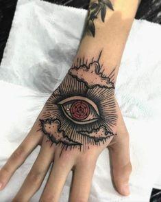 Badass Tattoos, Body Art Tattoos, Small Tattoos, Sleeve Tattoos, Cool Tattoos, Tatoos, Eye Tattoos, Naruto Tattoo, Anime Tattoos