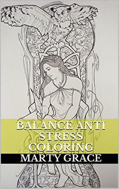 Balance Anti Stress Coloring Zentangle And Relieve Book For Adults By