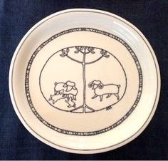 Plates, Tableware, Art, Licence Plates, Plate, Dinnerware, Dishes, Dish, Place Settings