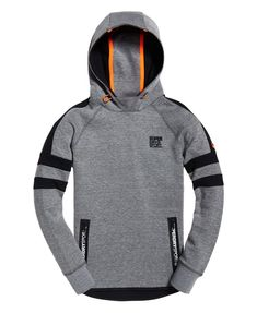 Shop Superdry Mens Gym Tech Stripe Overhead Hoodie in Grey Grit/black. Buy now with free delivery from the Official Superdry Store. Gym Outfit Men, Hoodie Outfit, Boys Hoodies, Mens Sweatshirts, Superdry Mens, Mens Clothing Styles, Gym Clothing, Camisa Polo, Gym Wear