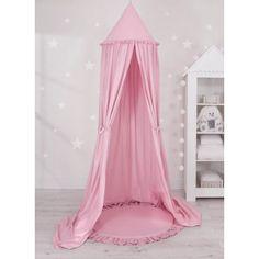 Sweet baby óriás függő baldachin szett extra - rózsaszín - P Ruffle Pillow, Baby Nest, Pastel Pink, Canopy, Decorative Pillows, Toddler Bed, Elegant, Perfect Place, Wedding Dresses