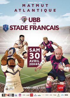 UBB - Stade Français, samedi 30 avril, 20h45