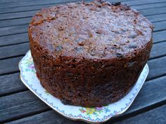 boiled fruit cake, i grew up thinking this was actually called Castlebuoy Cake but thats just where my Granny lived ............