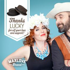 This Lucky Fedora is named after the Lucky Diaz and the Family Jam Band and all proceeds from purchasing this item goes towards helping children fighting cancer! FierceLove {Blog} | MaxLove Brand
