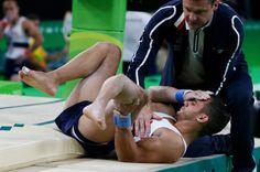 """Francúzsky gymnasta dosníval olympijský sen. Hrozivá zlomenina doslova """"rozdrvila"""" jeho sny - Europa 2"""