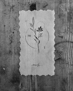 #tattooflash #wannado #available #stickandpoke #stickandpoketattoo #handpoke #handpoked #tattoo #ink #flowers #botanicaltattoo #plants #nature #abstract #unique #blackandwhite #blackwork #black #linework #dresden #circle #wood #new #tattooartist #handmade #art