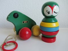 brio - little uggla - hoogte 15 cm Brio Toys, Stacking Toys, Pull Toy, Creative People, Kids Playing, Wooden Toys, Sweden, Dates, Owl