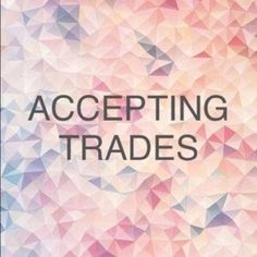 IN THE MOOD FOR BIG BUNDLE TRADES! I'm in the mood to make huge bundle trades! Who wants to do it ?  💖😊 ! Just like or comment below! ⬇️💞 Also please leave trading feedback below ⬇️👇🏻 I would gladly appreciate it 😘💞 Other