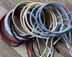 Woven & Braided Bracelets   Etsy Bracelet Knots, Braided Bracelets, Bracelets For Men, Handmade Bracelets, Friendship Bracelets, Mens Bracelet Fashion, Brass Metal, Copper, Braided Leather