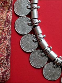 Turkish Coin Necklace - Tribal Jewelry Choker ...