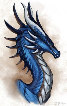 Lazurite Wyvern by Adalfyre on DeviantArt