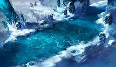 Snow Land, Suroo . on ArtStation at https://www.artstation.com/artwork/Nrng1