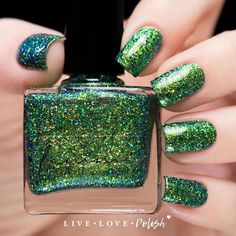 Femme Fatale The Mermaid's Tail Nail Polish (Little Mermaid Collection)